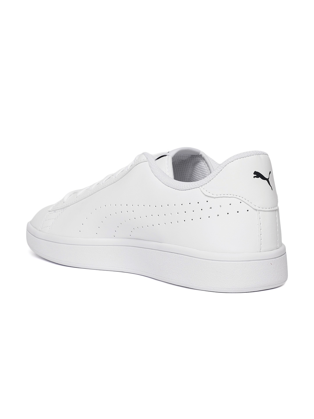 1acc3fb8a137 Buy Puma Men White Smash V2 Perforated Leather Sneakers - Casual ...