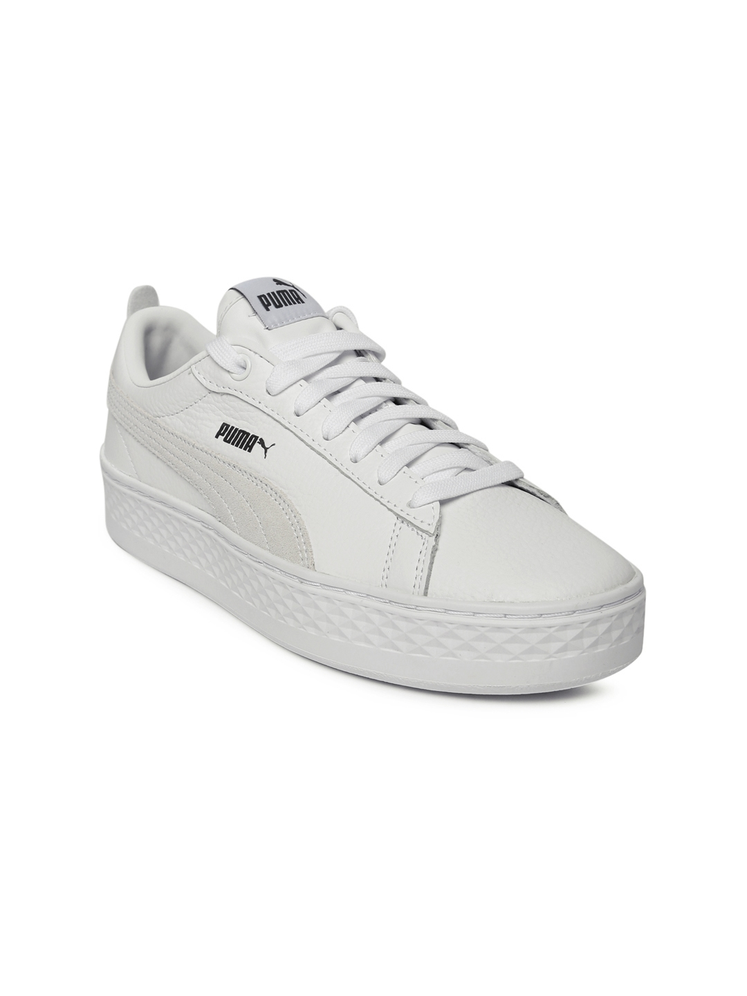 518a86be005ef3 Buy Puma Women White Smash Platform Sneakers - Casual Shoes for ...