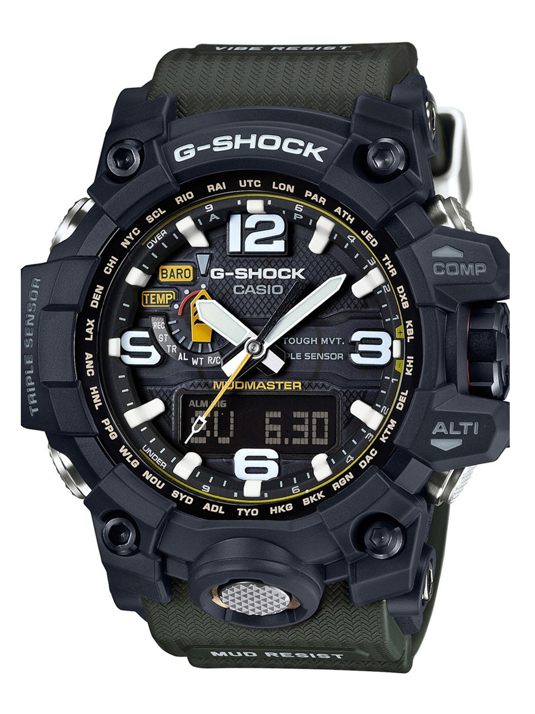 67c44d725a8 Buy CASIO Men Black Analogue And Digital Watch G652 - Watches for ...