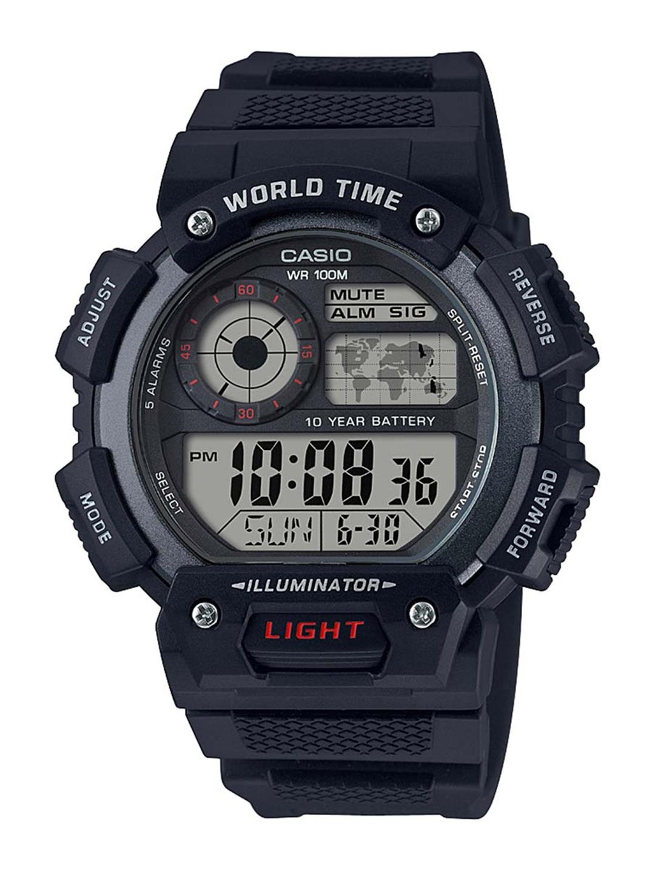 CASIO Youth Series Men Black Dial Digital Watch AE 1400WH 1AVDF   D152