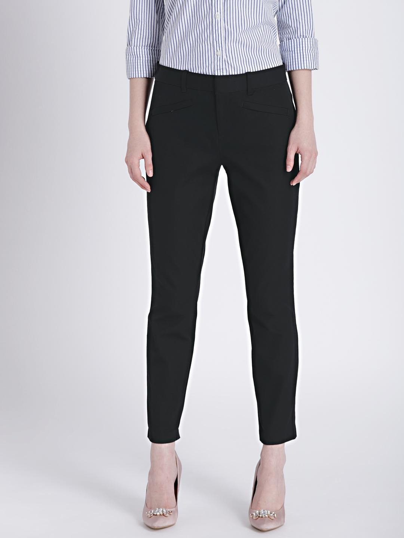 2dacfbcbdba Buy GAP Women's Black Bi Stretch Skinny Ankle Pants - Trousers for ...