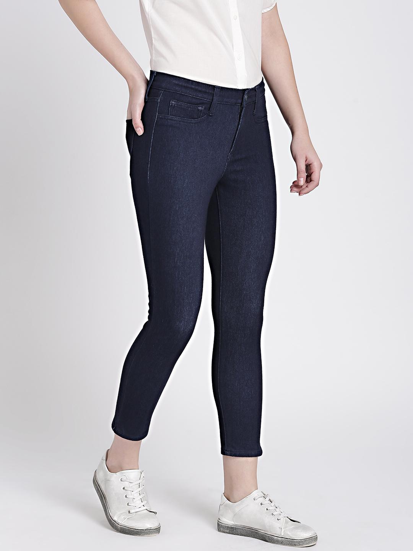 Buy GAP Women s Blue Soft Wear Mid Rise Knit Favorite Jeggings ... fba7024700
