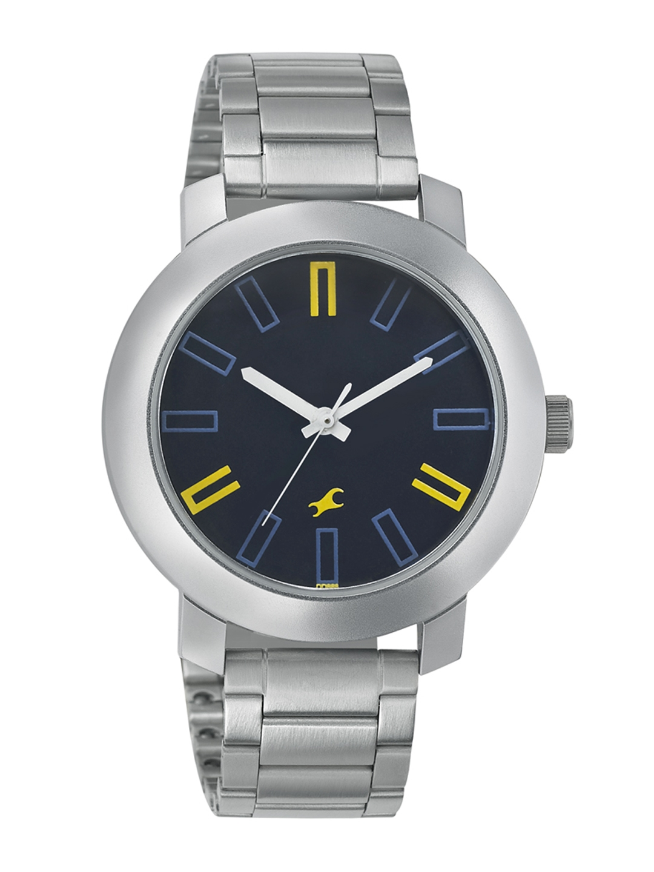 Fastrack Men Black Dial Watch 3120SM02