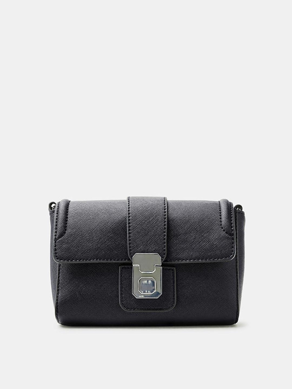 36686af97 Buy ESPRIT Black Solid Sling Bag - Handbags for Women 7091188