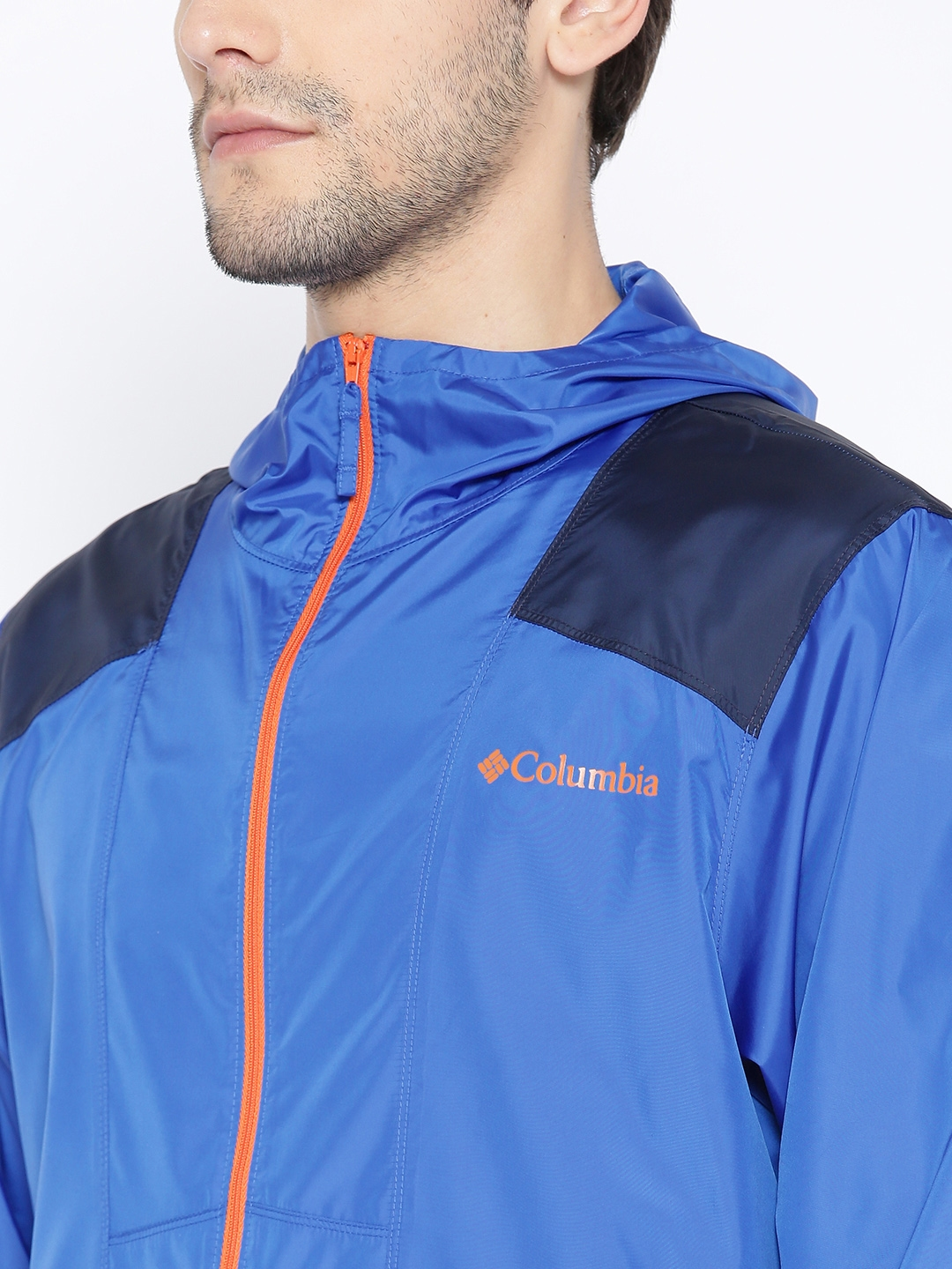 f339eeb8bc5 Buy Columbia Men Blue Flashback Windbreaker Pullover Water Resistant ...