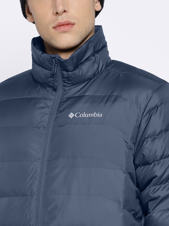 4ef02d57ce8 Buy Columbia Men NavyBlue Cascade Peak II 650 Down Thermal ...