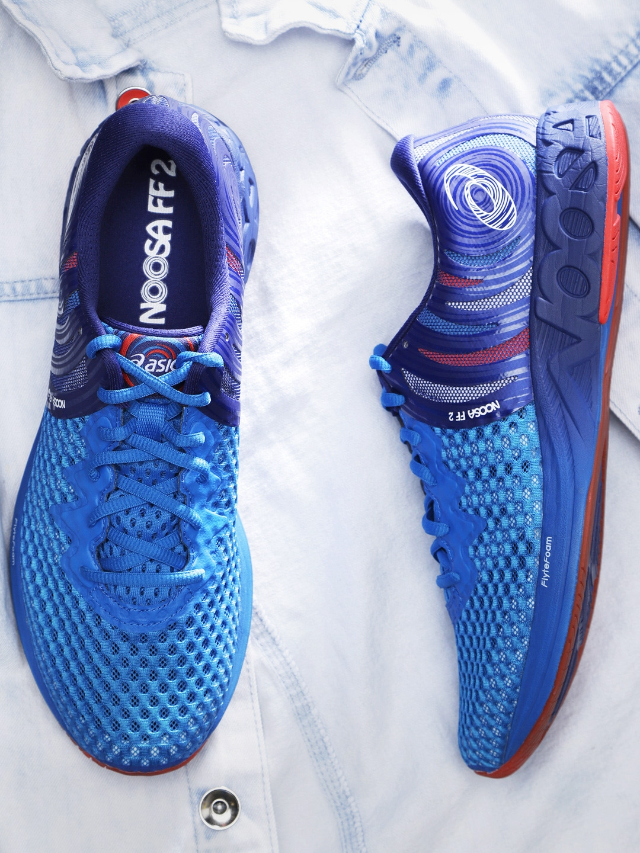 c10309cfb3 Buy ASICS Men Blue NOOSA FF 2 Running Shoes - Sports Shoes for Men ...