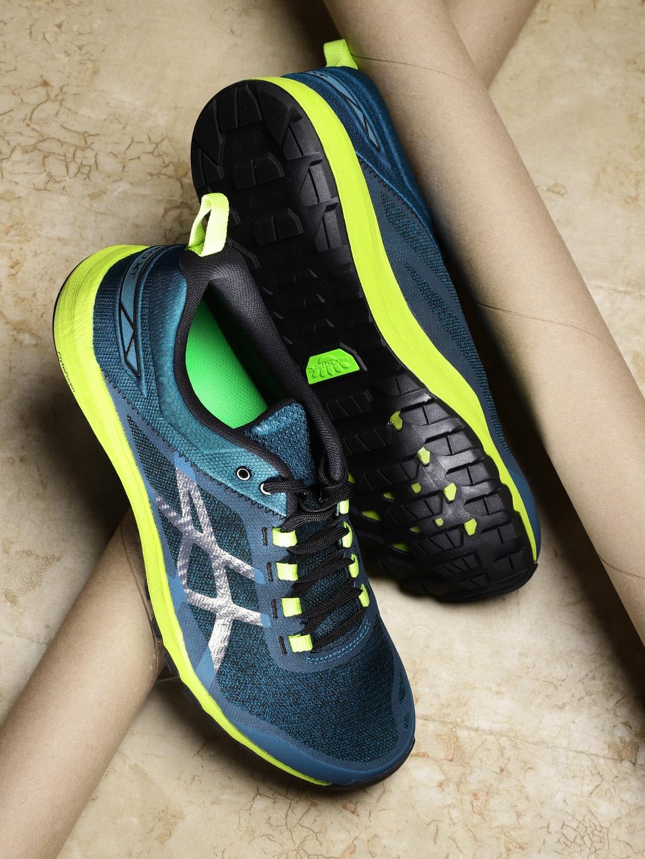 premium selection 376de d2274 ASICS Men Teal Blue GECKO XT Running Shoes
