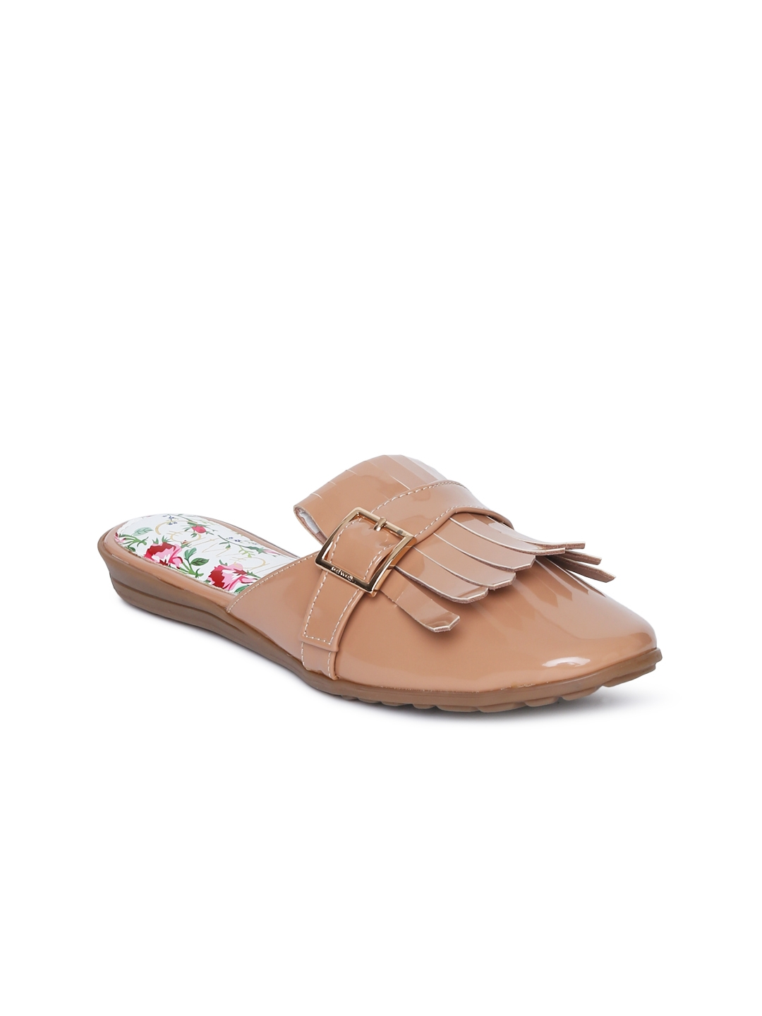 Catwalk Women Nude Coloured Solid Synthetic Open Toe Flats