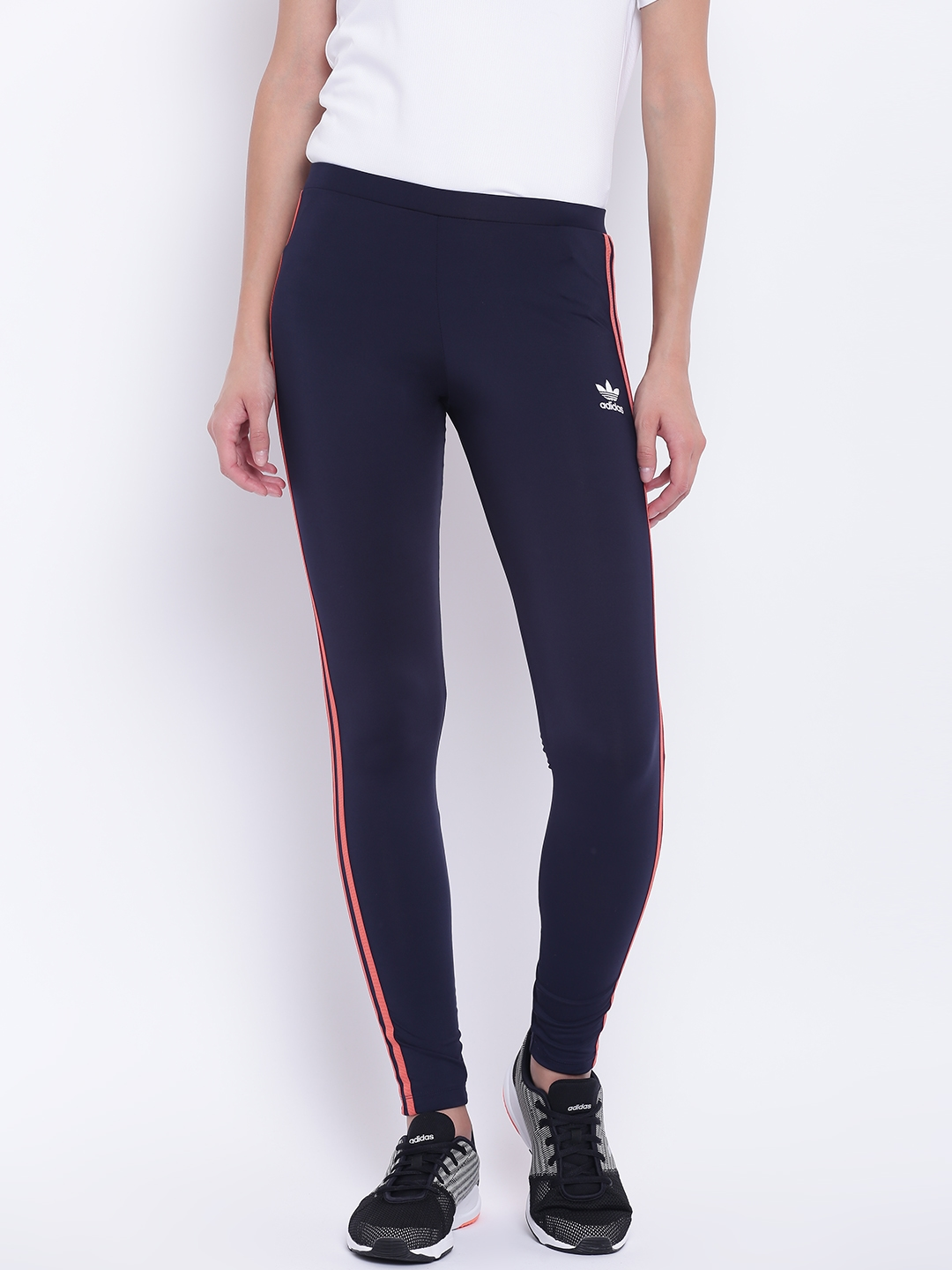 40b2e4d10d79b Buy ADIDAS Originals Women Navy Blue Active Icons Tights - Tights ...