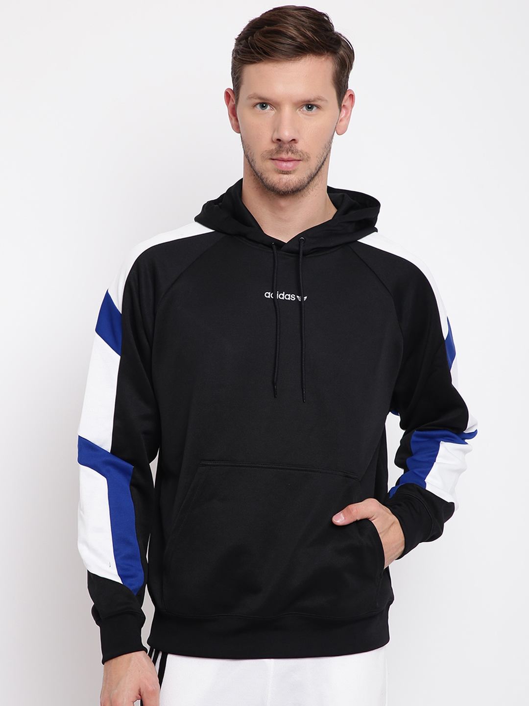 ccde464328f3 Buy ADIDAS Originals Men Black EQT Block Hoody Sweatshirt ...