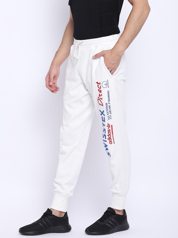 1954b59d58c Buy ADIDAS Originals Men White Kaval Joggers - Track Pants for Men ...