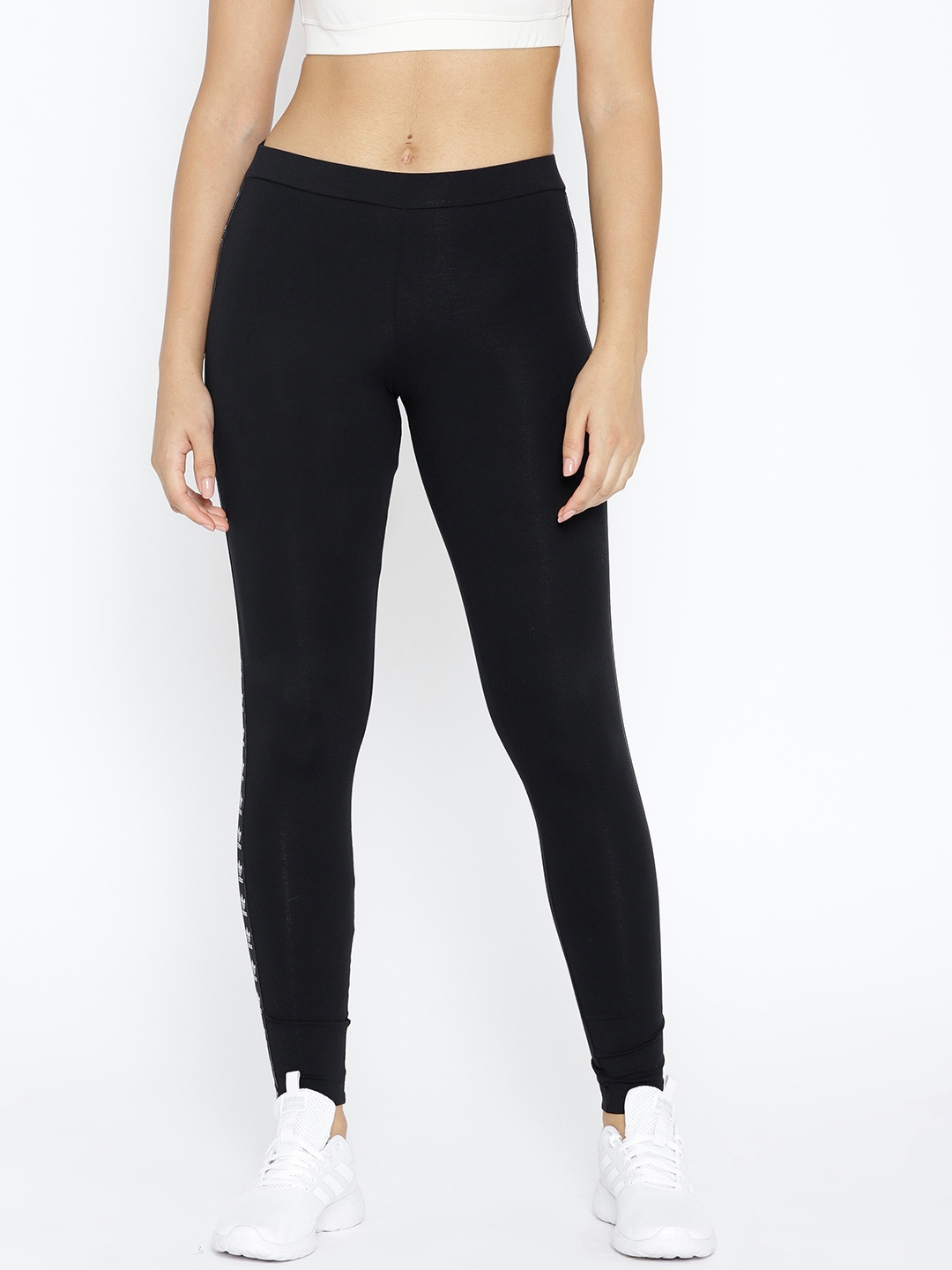 maorí edificio exilio  Buy ADIDAS Originals Women Black Slim Fit Trefoil Tights - Tights for Women  7101284 | Myntra