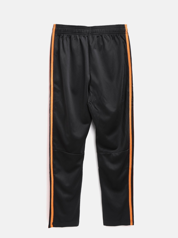 b02300b60ecc Buy ADIDAS Boys Black YB Football Striker 3 Stripes Track Pants ...
