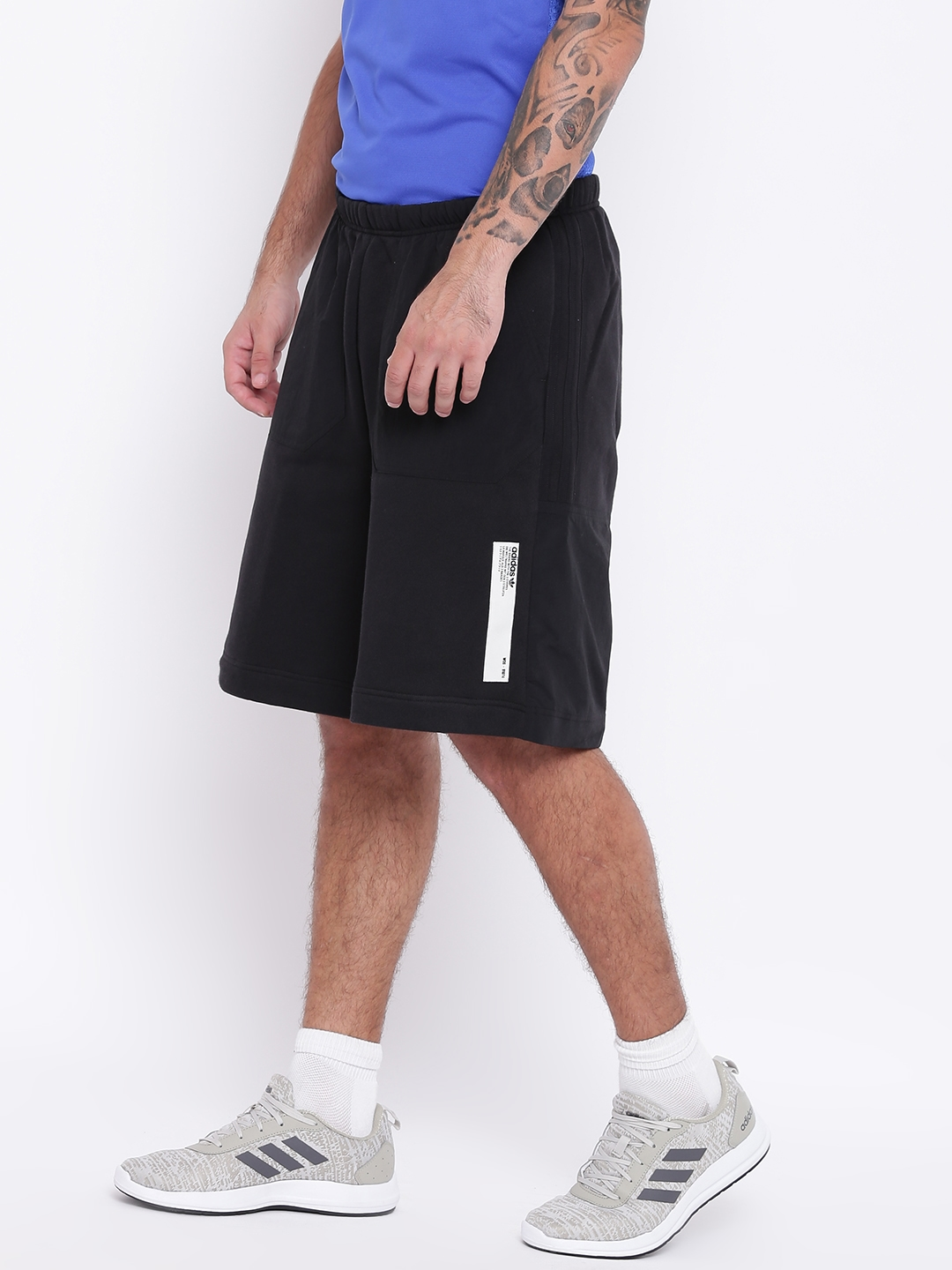 1152cbc51 Buy Black Solid Nmd Sports Shorts - Shorts for Men 7101446