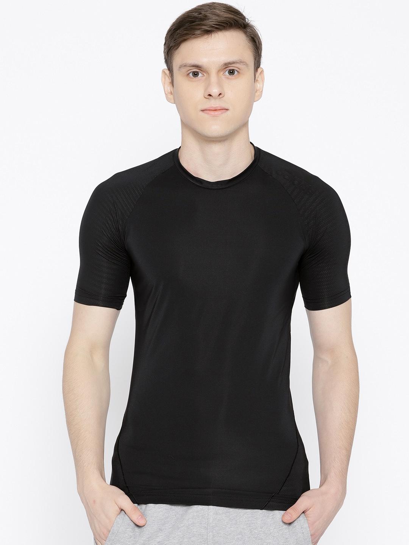 b770f9514 Buy ADIDAS Men Black Alphaskin Tech Training T Shirt - Tshirts for ...