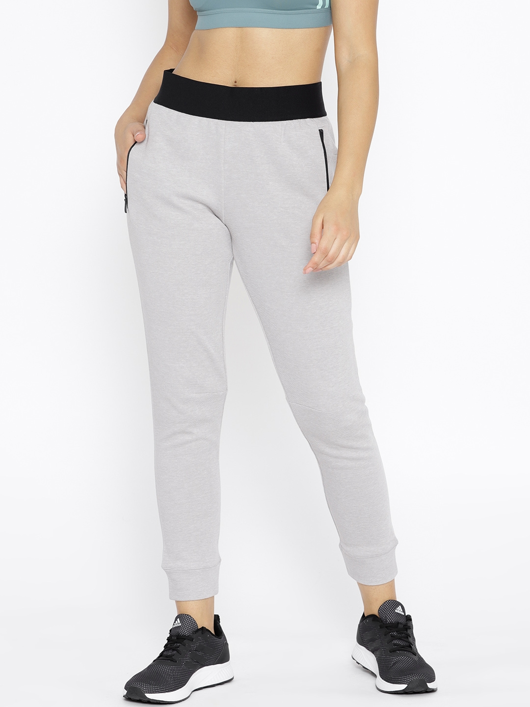 206e93987660 Buy ADIDAS Women Grey ID Stadium Solid Joggers - Track Pants for ...