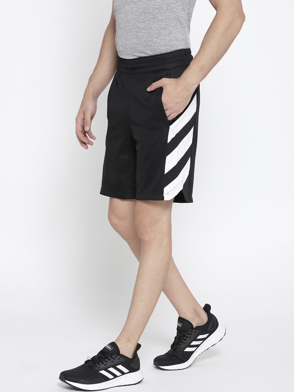 1a7d7009424 Buy ADIDAS Men Black James Harden CML Basketball Shorts - Shorts for ...