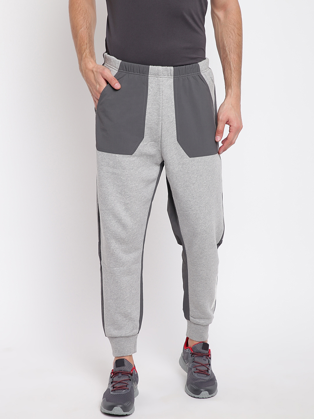b53a52f389251f Buy ADIDAS Men Grey NMD Joggers - Track Pants for Men 7101613