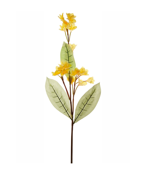 Buy Fourwalls Set Of 3 Artificial Frangipani Flower Sticks