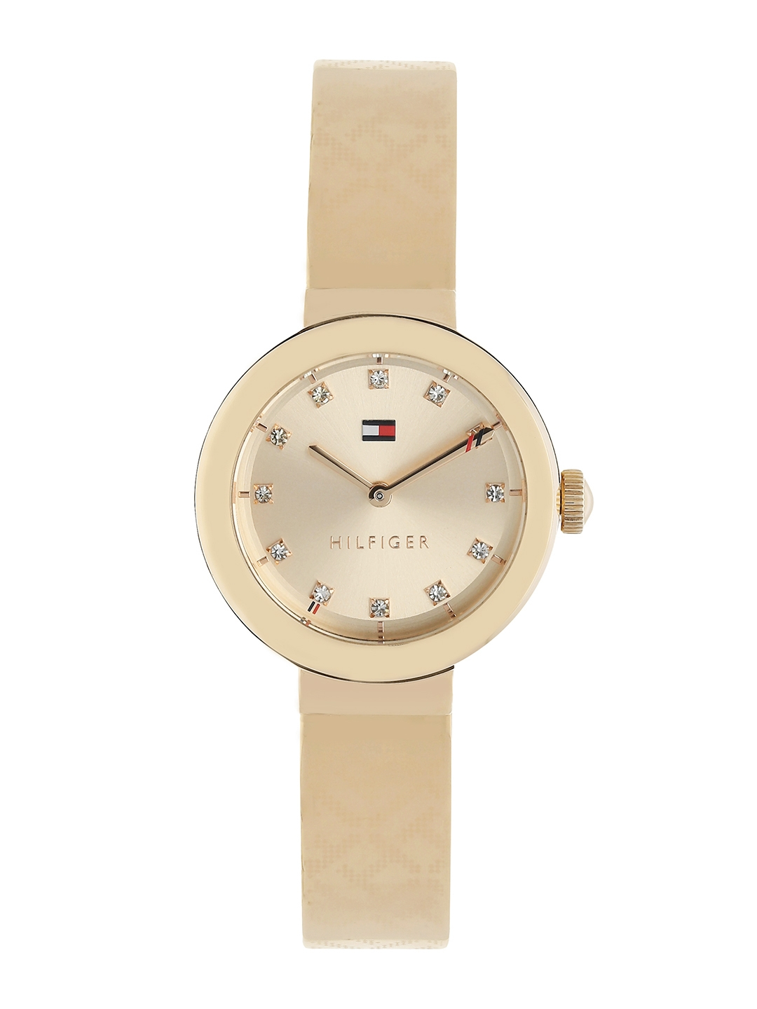 10c9eca8 Buy Tommy Hilfiger Women Gold Toned Analogue Watch TH1781715 ...