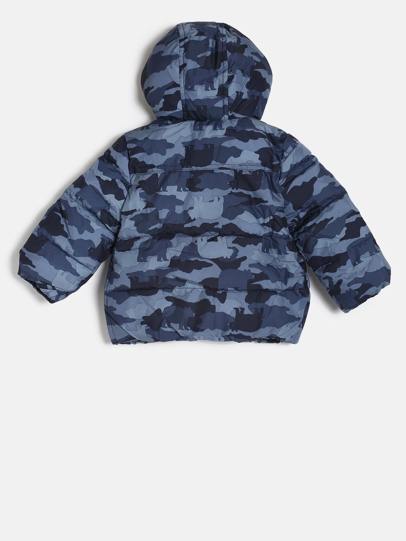 5186e812ecc4 Buy GAP Boys  Blue Camo Print Warmest Puffer Jacket - Jackets for ...