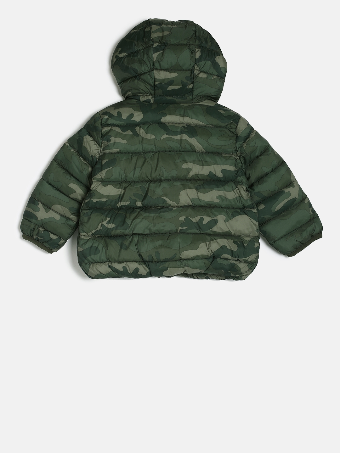 2ee8412e10b7 Buy GAP Boys  Olive Green ColdControl Lite Critter Puffer Jacket ...