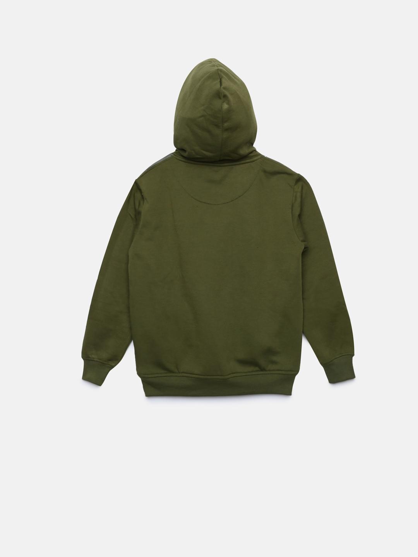49733bda Buy Duke Boys Green Printed Hooded Sweatshirt - Sweatshirts for Boys ...