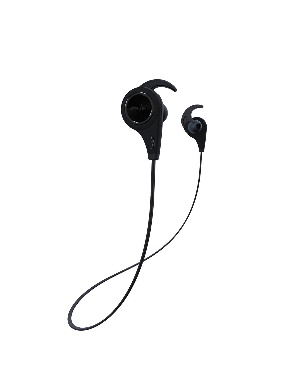 ee597d1b5b5 Buy LEAF Ear Unisex Black Wireless Bluetooth Deep Bass Earphones ...