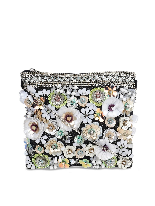 Buy Diwaah Multicoloured Embellished Sling Bag - Handbags for Women ...