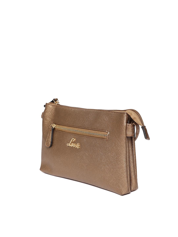 7e1a6f522ba Buy Lavie Brown Solid Sling Bag - Handbags for Women 7130610