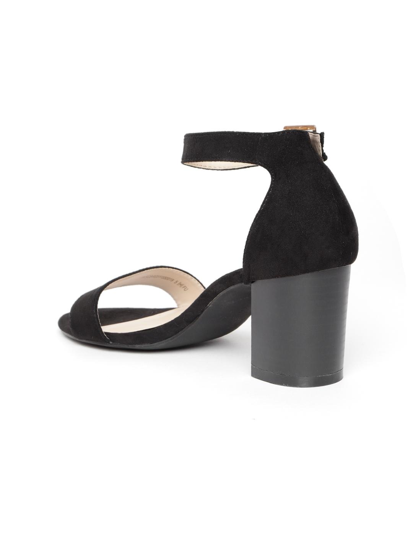 08e5ec005e4 Buy Van Heusen Women Black Solid Heels - Heels for Women 7133316 ...