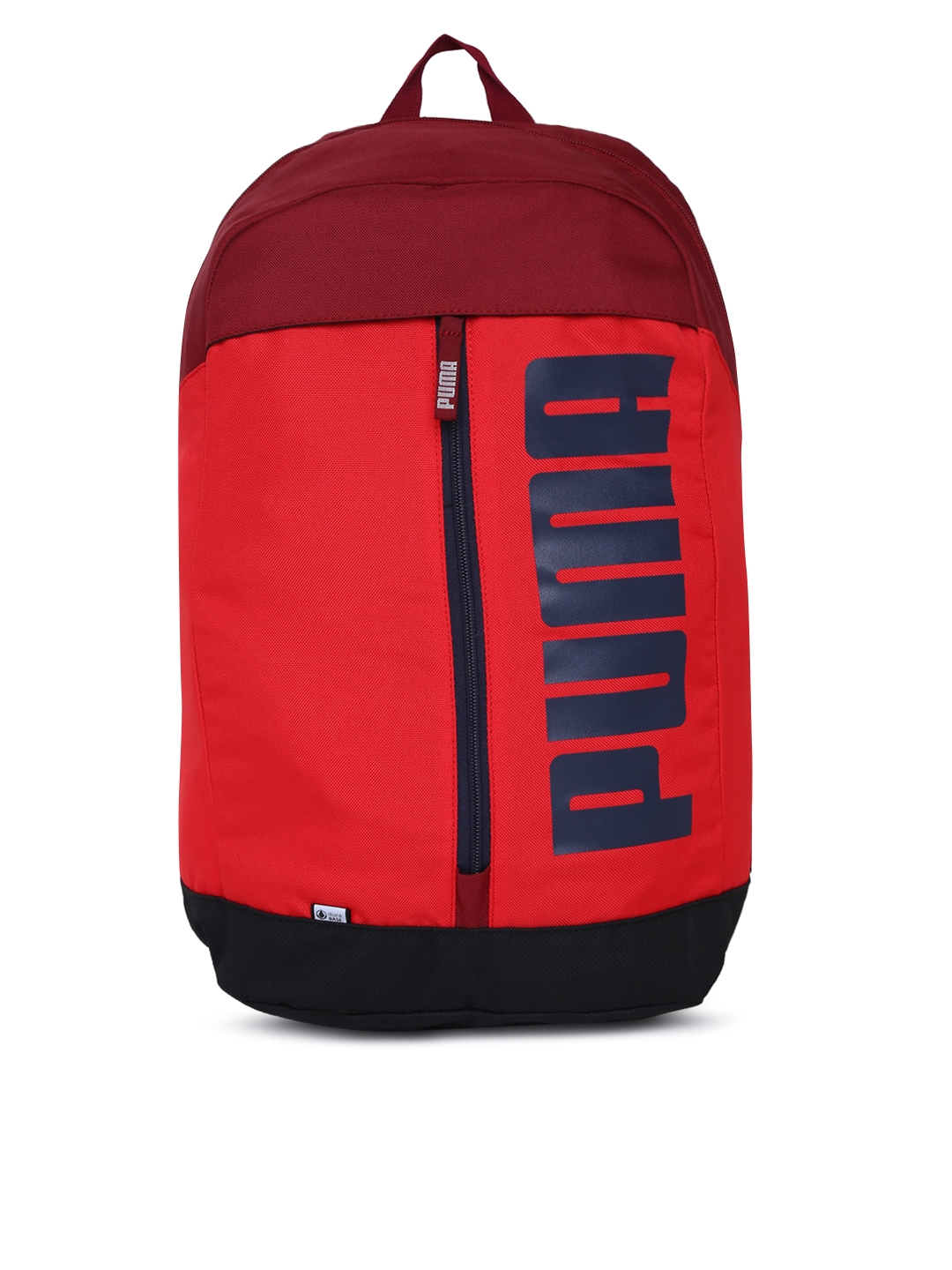 17673ef683 Buy Puma Unisex Red Brand Logo Print Pioneer Laptop Backpack ...