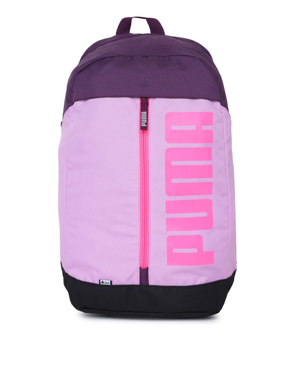 Puma Unisex Lavender   Black Pioneer II Laptop Backpack Puma Backpacks