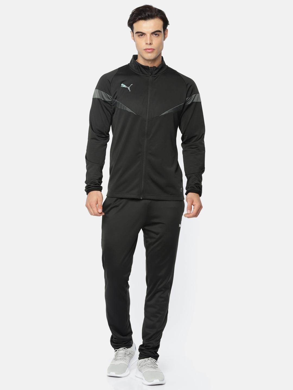 61e6152e370a Buy Puma Men Black FtblNXT Poly Tracksuit - Tracksuits for Men 7141317 |  Myntra