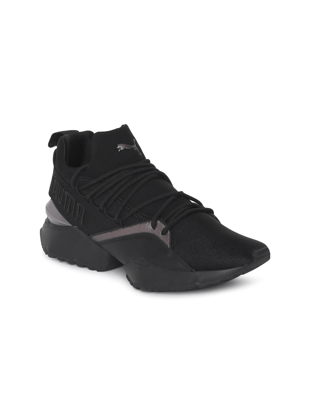 1fc8978ed0b Buy Puma Women Black Muse Maia Luxe Sneakers - Casual Shoes for ...
