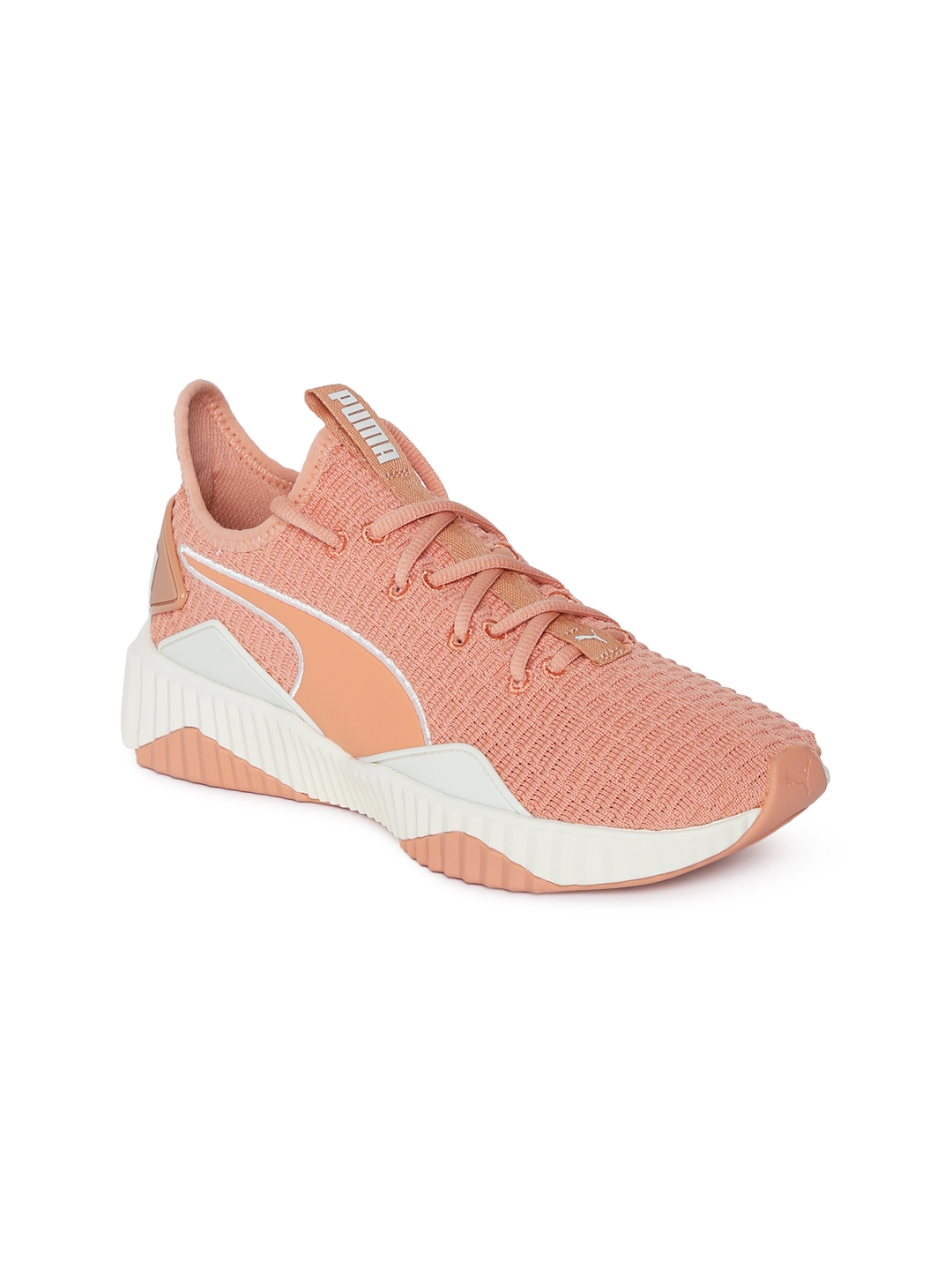 e2111aecb56 Buy Puma Women Peach Coloured Solid Defy Training Shoes - Sports ...