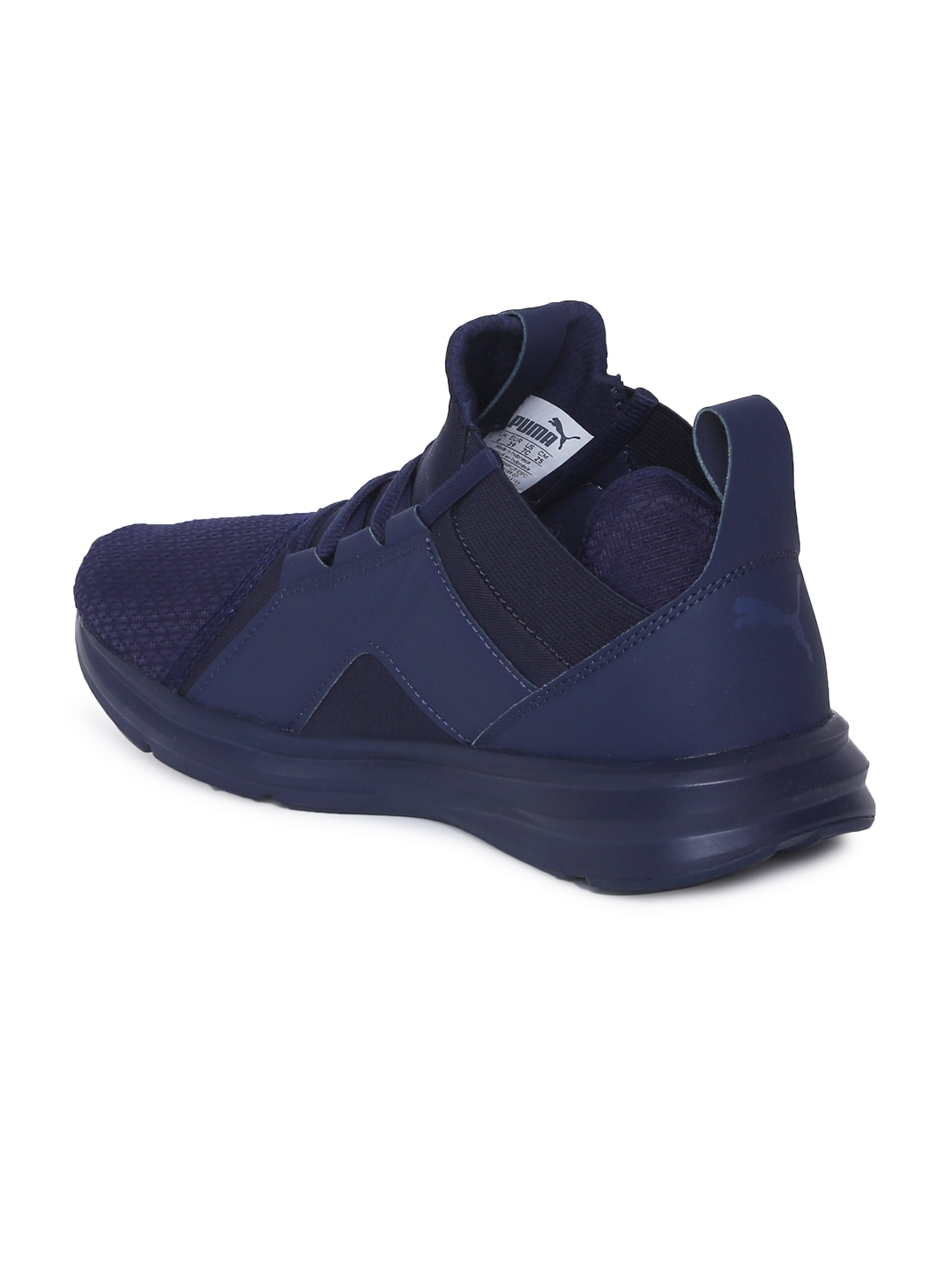 0a1b7543fa4 Buy Puma Kids Navy Blue Enzo Jr Sneakers - Casual Shoes for Unisex ...
