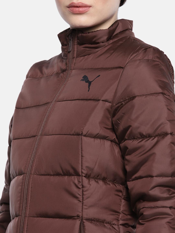 4782639c6105 Buy Puma Women Burgundy ESS Ultralight Puffer Jacket - Jackets for ...