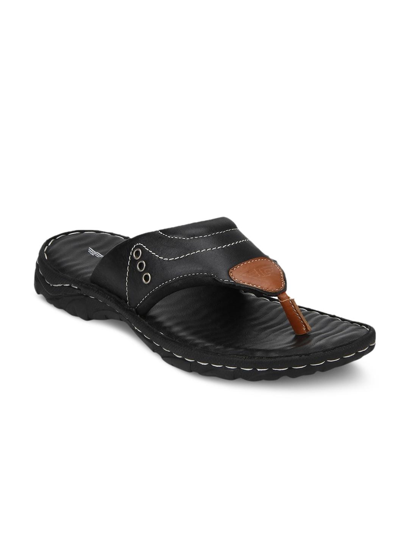 767637708aff Buy Red Tape Men Black Fisherman Sandals - Sandals for Men 7146505 ...