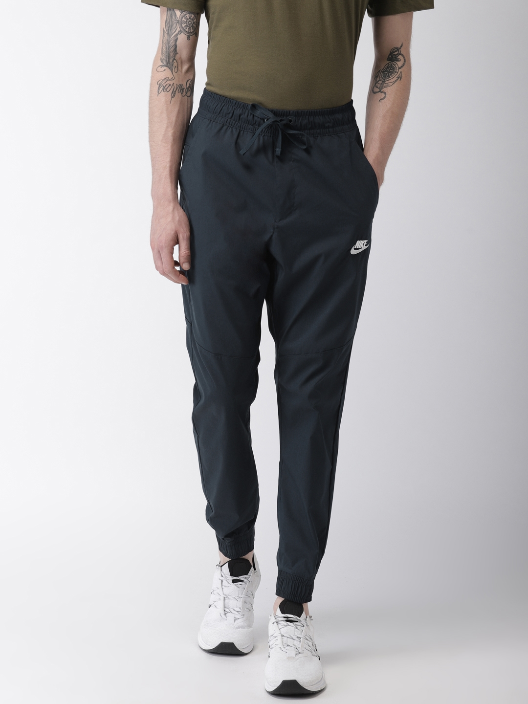 e051767e17fb Buy Nike Navy AS NSW CORE STREET Solid Joggers - Track Pants for Men ...