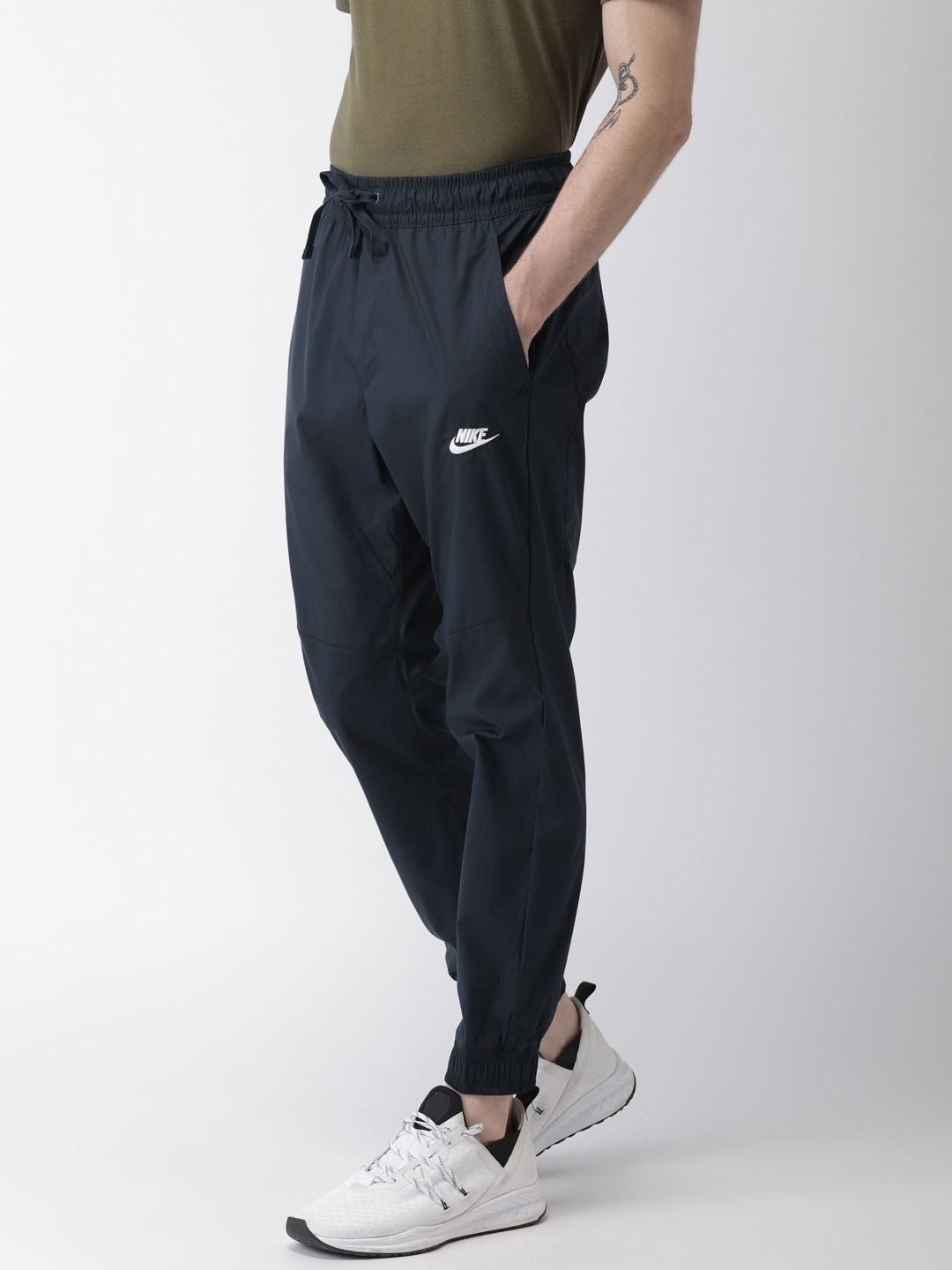 c45f187c02dd Buy Nike Navy AS NSW CORE STREET Solid Joggers - Track Pants for Men ...