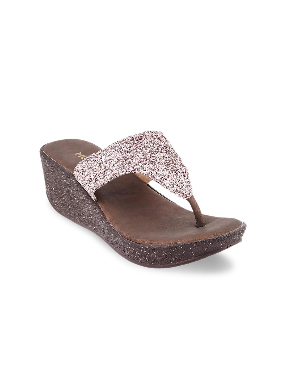 9168c15e4f895a Buy Mochi Women Peach Coloured Embellished Sandals - Heels for Women ...