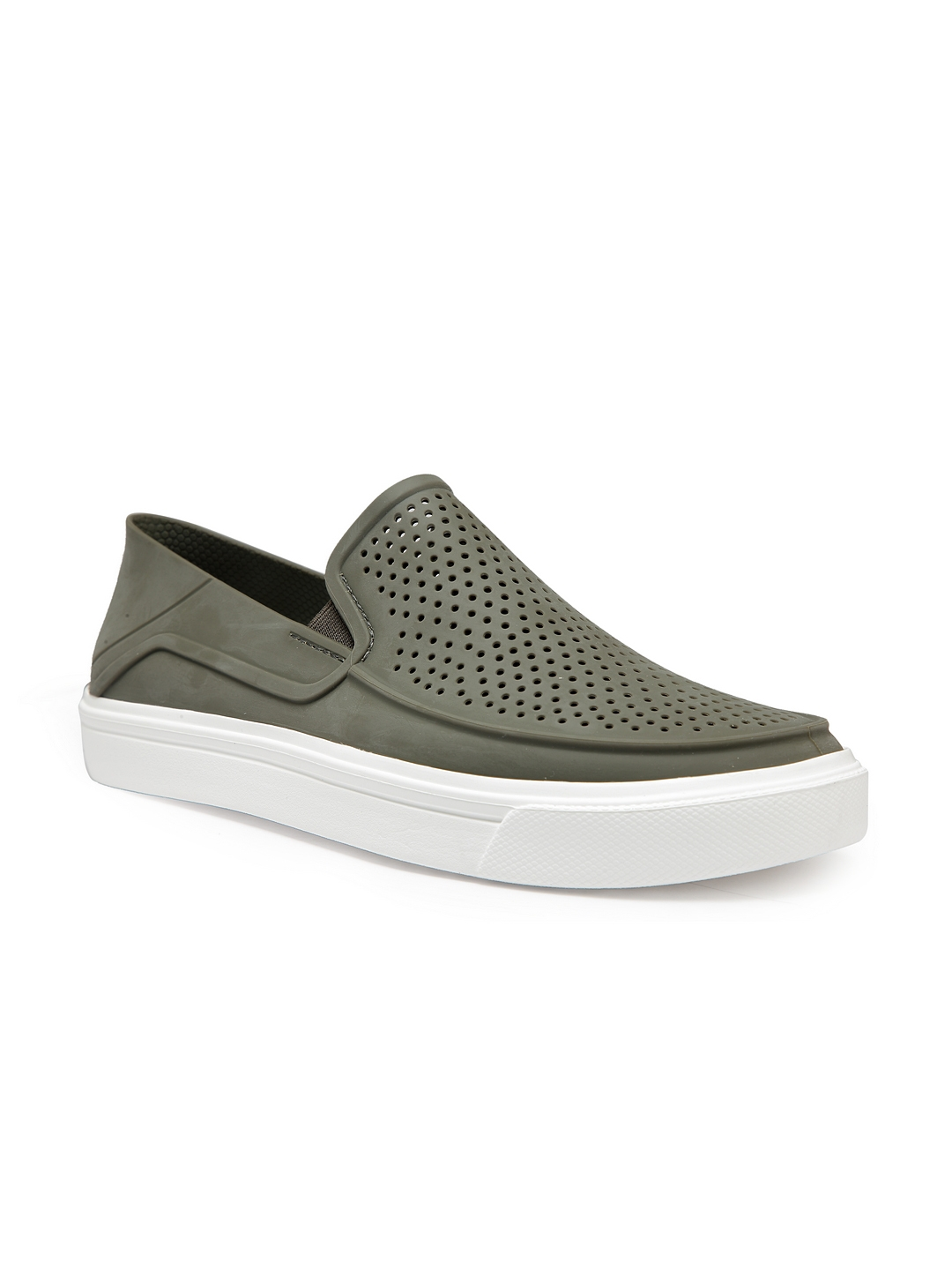 632a51912 Buy Crocs Men Green Slip On Sneakers - Casual Shoes for Men 7177545 ...