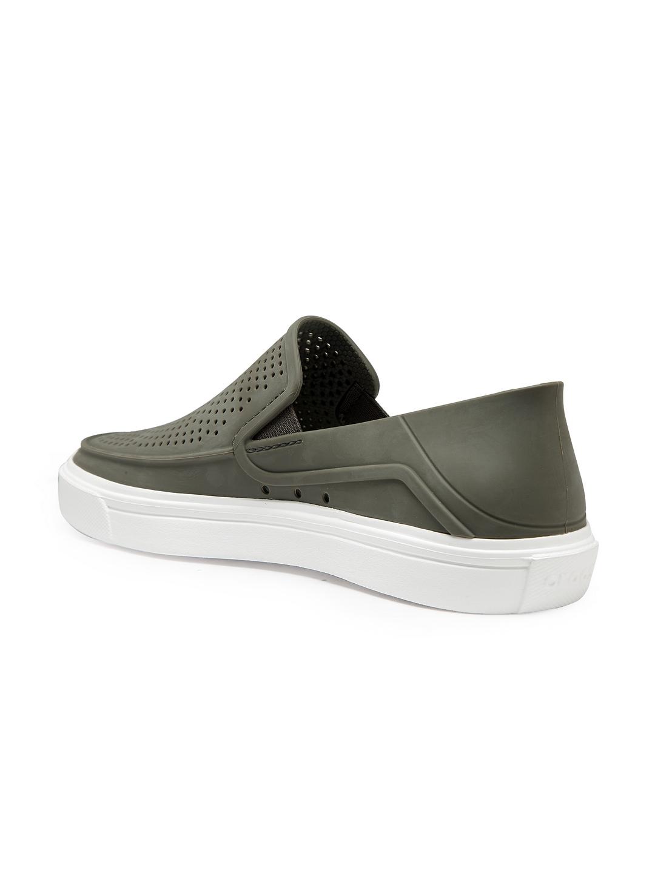 1d5b83004275 Buy Crocs Men Green Slip On Sneakers - Casual Shoes for Men 7177545 ...