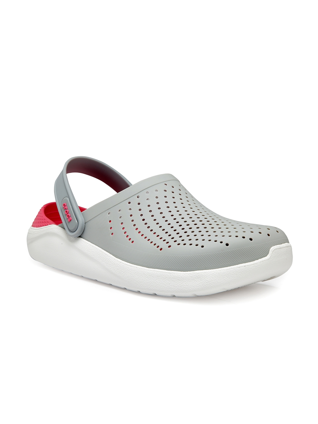 7e0f5864 Crocs Men Grey & White Clogs. This product is already at its best price