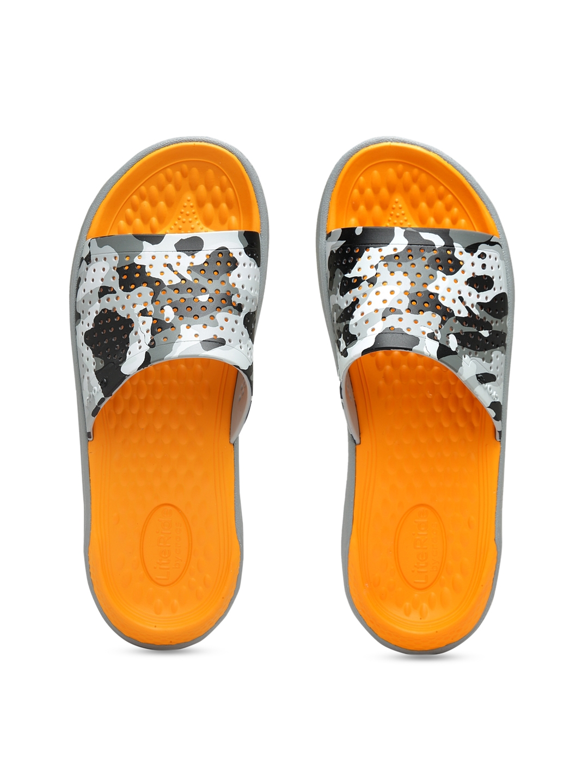 bd1ff98c8709 Buy Crocs Men Grey Camouflage Print Sliders - Flip Flops for Men ...