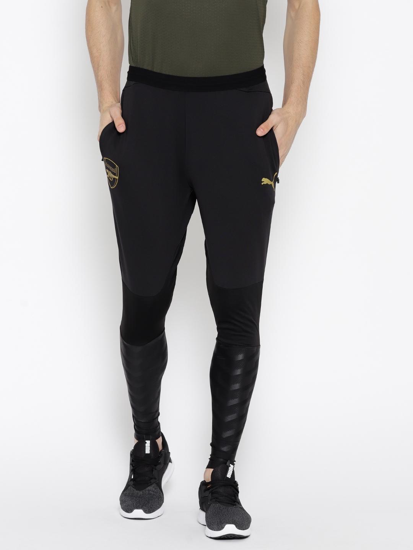 c29e3ccf3d48 Buy Puma Men Black Arsenal FC Training PRO Solid Track Pants - Track ...