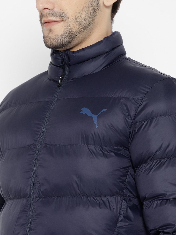 00dd7fb83df7 Buy Puma Men Navy Solid WarmCELL Ultralight AD Puffer Jacket ...