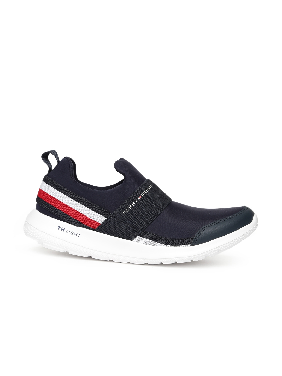 d225736d66094 Buy Tommy Hilfiger Men Navy Blue Slip On Sneakers - Casual Shoes for ...
